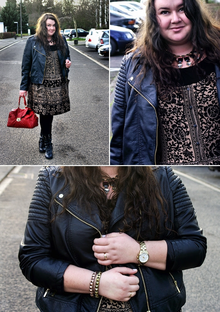 Große Größen Plus Size Fashion Blog asos curve paisley dress
