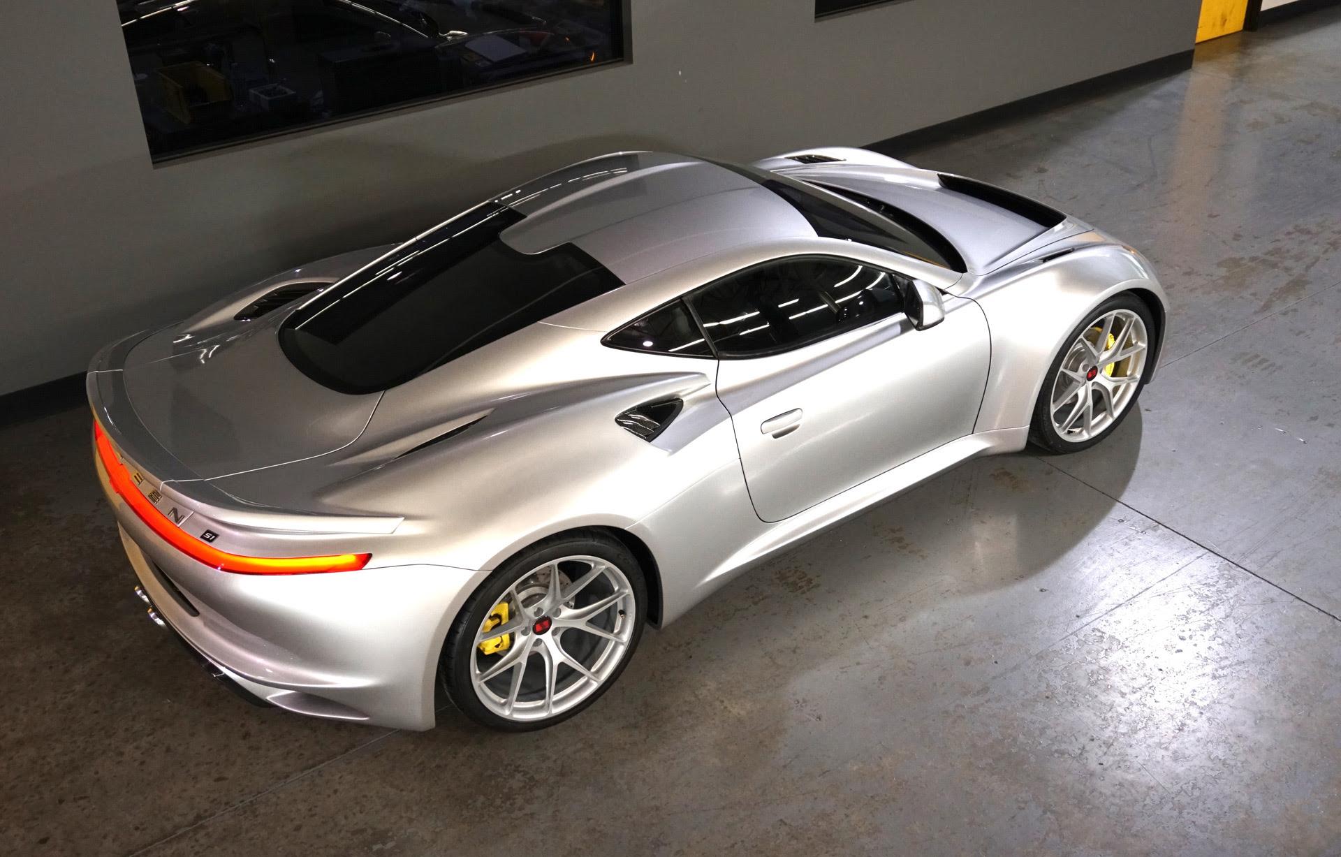 Saleen S1 Aria Fxe Aston Martin Vantage Car News Headlines