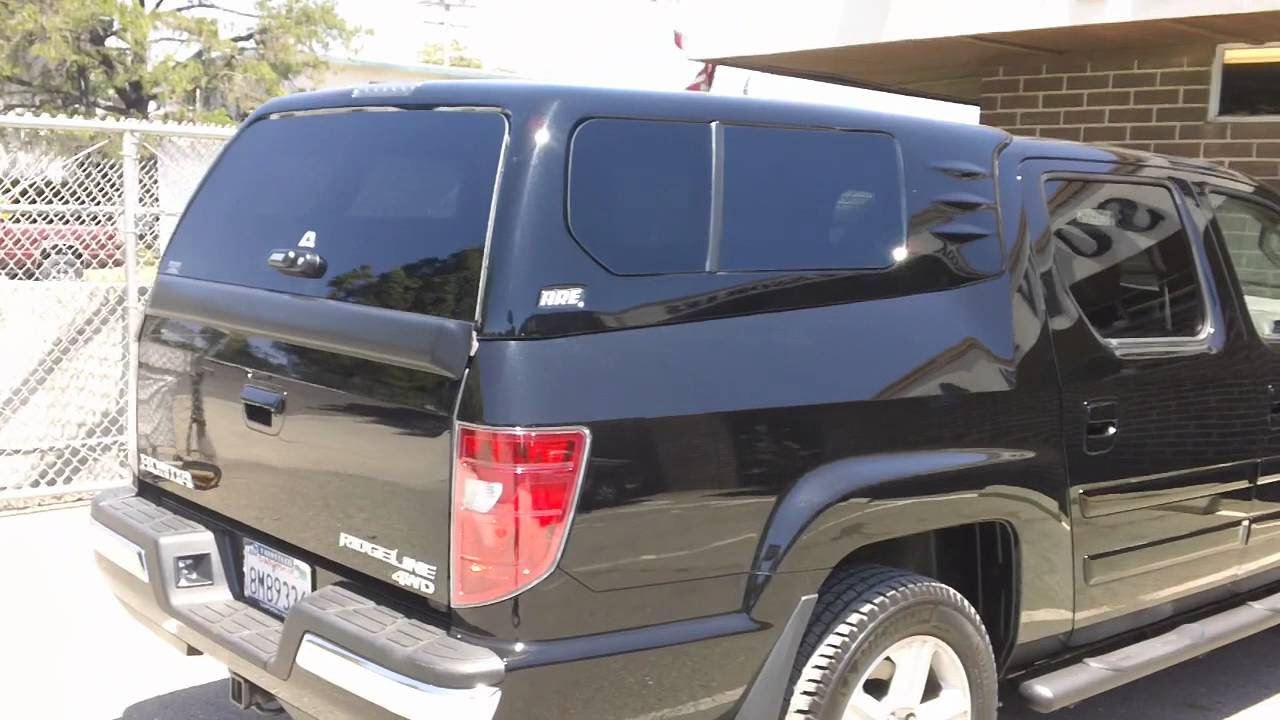 Honda ridgeline camper shell cost