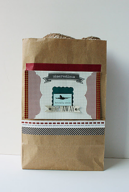 Travel-themed-paper-bag