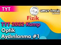 Fizik   TYT   TYT 2022 Kamp   Optik   Aydınlanma #1 - Umut Öncül Akademi