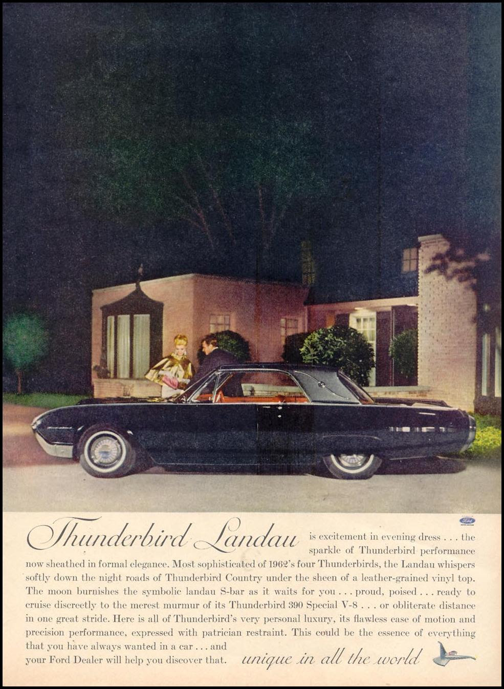 FORD AUTOMOBILES TIME 11/17/1961