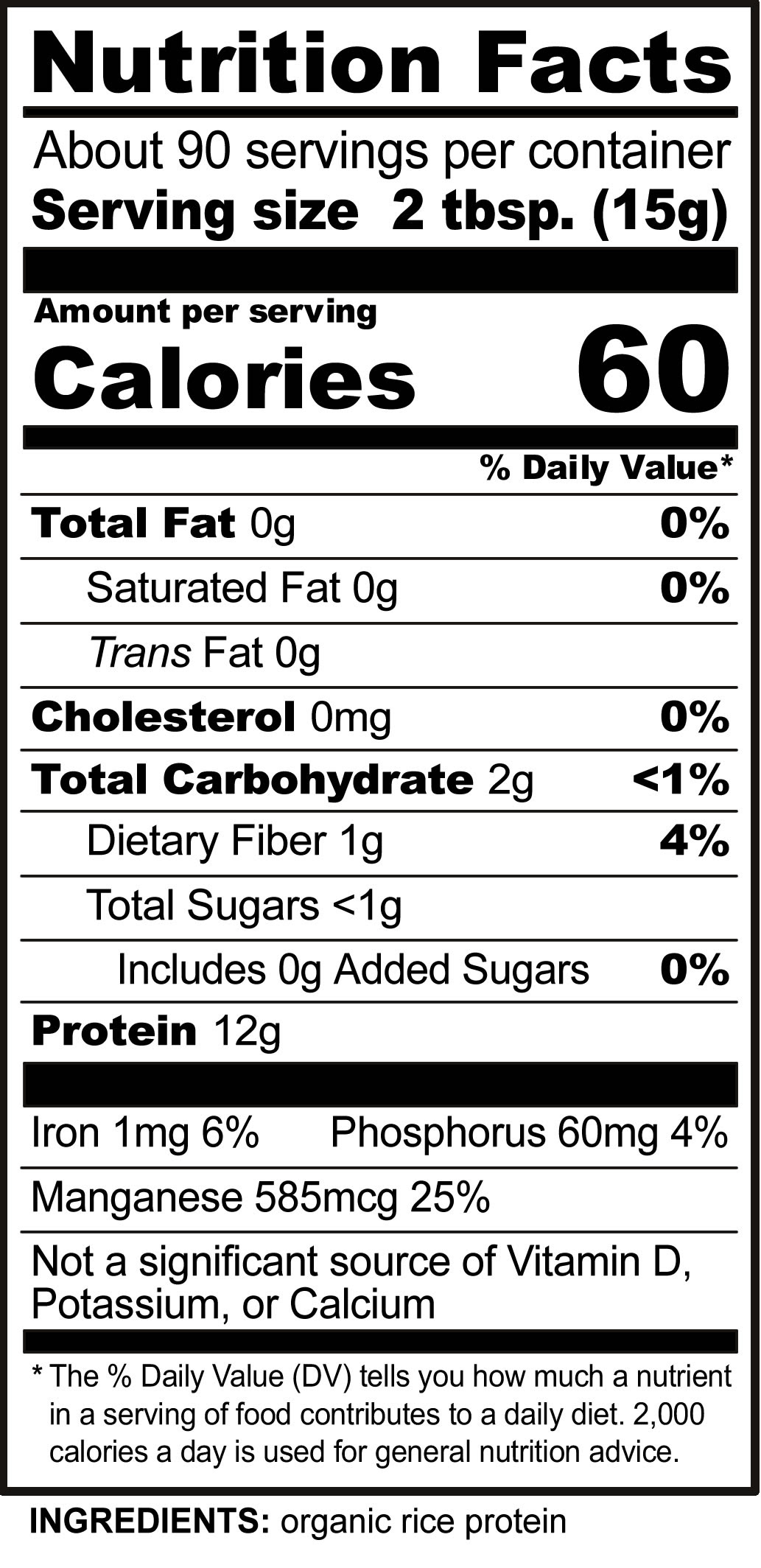 Powdered Milk Nutrition Label Pensandpieces