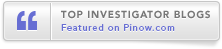 Featured on PInow.com - Top - Investigator - Blogs