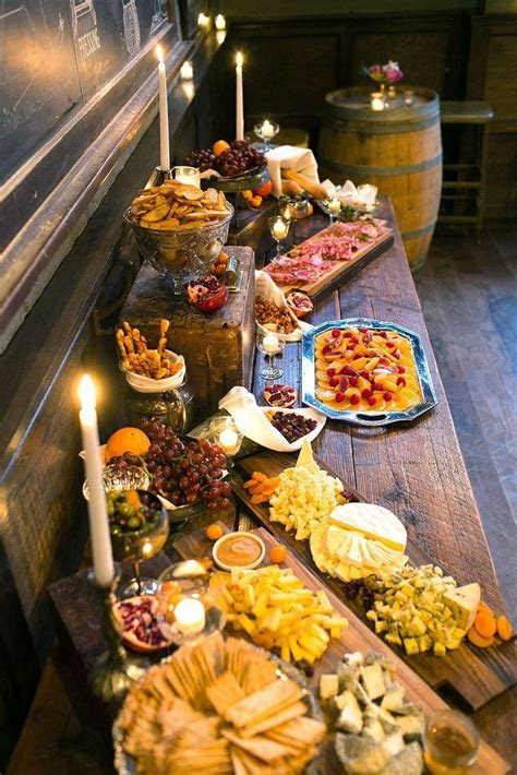 Best 25  Rustic buffet ideas on Pinterest   Buffet table