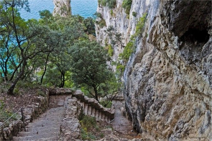 Escalones Faro de Santoña (4)