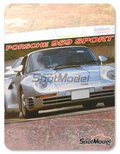 Maqueta de coche 1/16 SpotModel - Fujimi - Porsche 959
