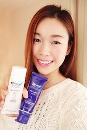 愛笑的女孩一定要試這款 | 先淨化後美白!CREST 美白雙管牙膏