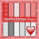 Valentine Overlays 5 - Scrapper Size