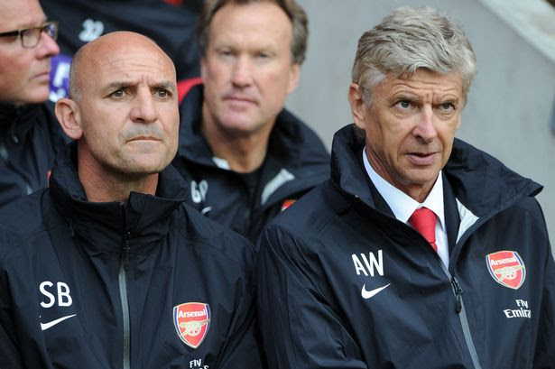 Bad cop, good cop? Steve Bould and Arsene Wenger
