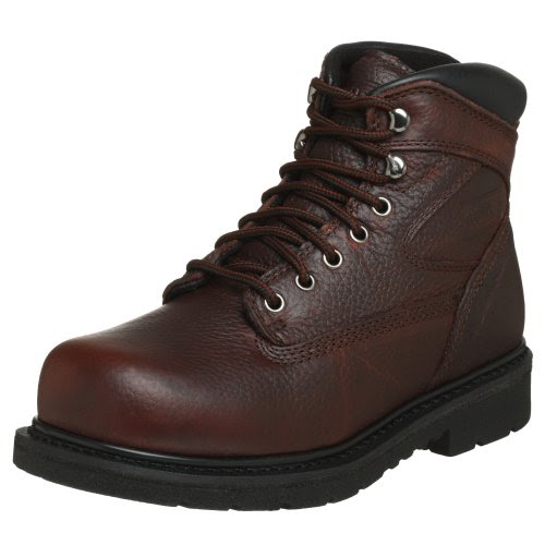 WORX by Red Wing Shoes Men's 6525 Oblique Toe 6