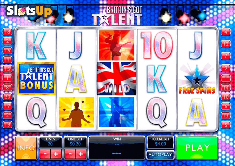 Britains got talent playtech casino slots triple