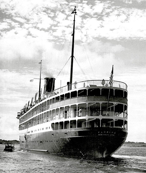 Before Fathom's Adonia, the SS Florida was the last ship to sail regular cruises from Miami to Cuba, in 1959. Photo Credit: Courtesy of Michael Grace