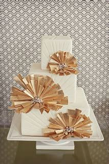 Wedding Cakes Pictures: Art Deco Wedding Cakes Part 2
