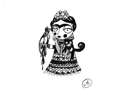 Friends of Nitinha - Frida Kahlo by good mood factory
