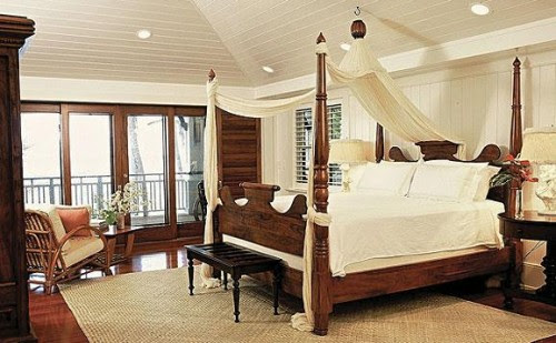 Trigg-Smith Architects - Project - An Island Estate tropical bedroom