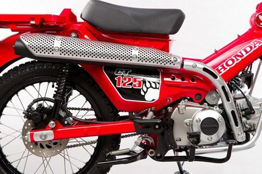 allnew 2020 honda ct125 concept motorcycle  scooter