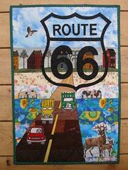 Route 66 quilt