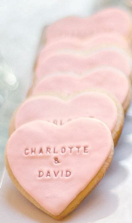 Where Can I Buy These Pink Heart Shaped Wedding Cookies