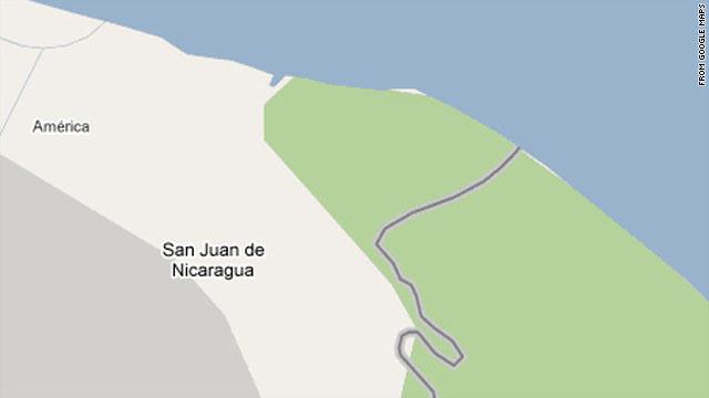 Costa Rica Google Map