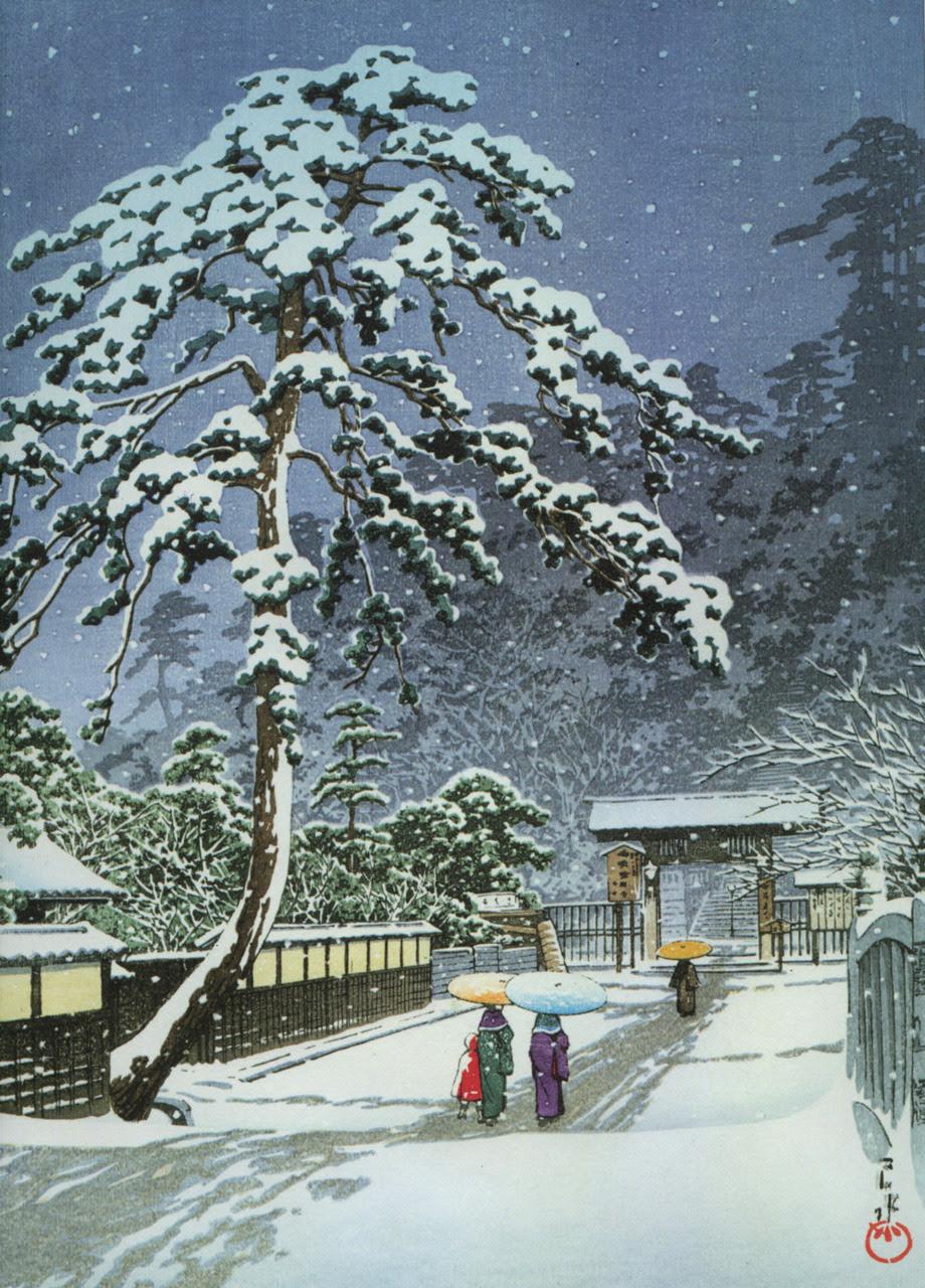日本の雪景色 お洒落なクリスマスのスマホ壁紙 冬 Iphone Android