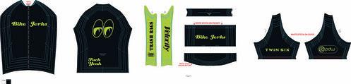 Bike Jerks Jersey Green