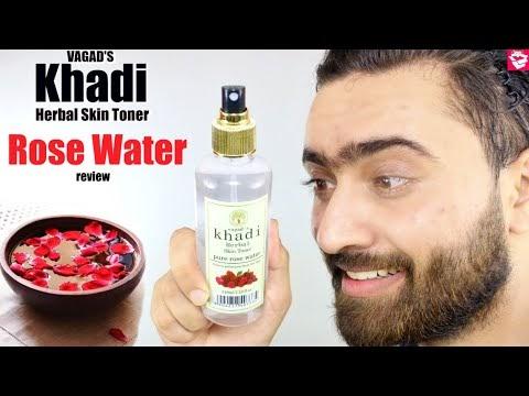 VAGAD'S KHADI PURE ROSE WATER REVIEW | HERBAL SKIN TONER | QUALITYMANTRA