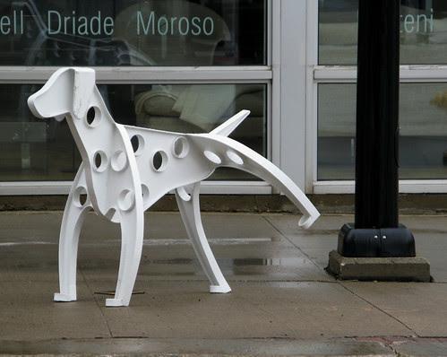 Public Art-Wet Lamp Post