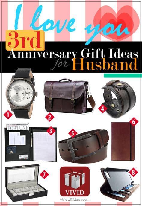 3rd Wedding Anniversary Gift Ideas for Him   VIVID'S