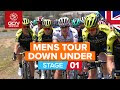 Vídeo resumen de la 1ª etapa del Santos Tour Down Under 2020
