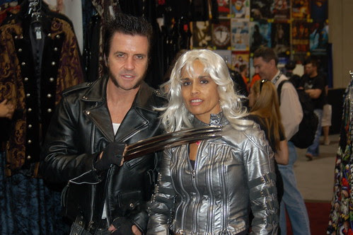 Comic Con 2006: Wolverine & Storm