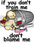 If you don't train me, don't blame me