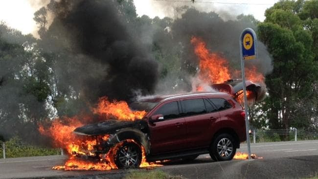 New Ford Everest SUV catches fire during a test drive ...