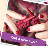 Knit a new scarf