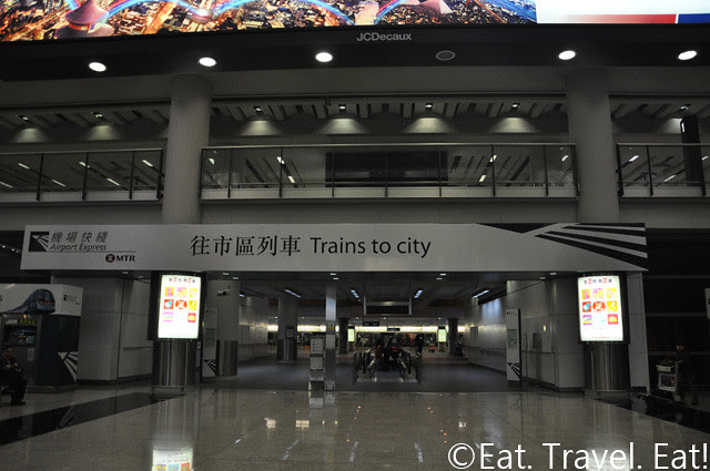 Airport Express- Trains to city