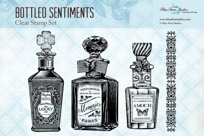 Stamp - Bottled Sentiments - Click Image to Close
