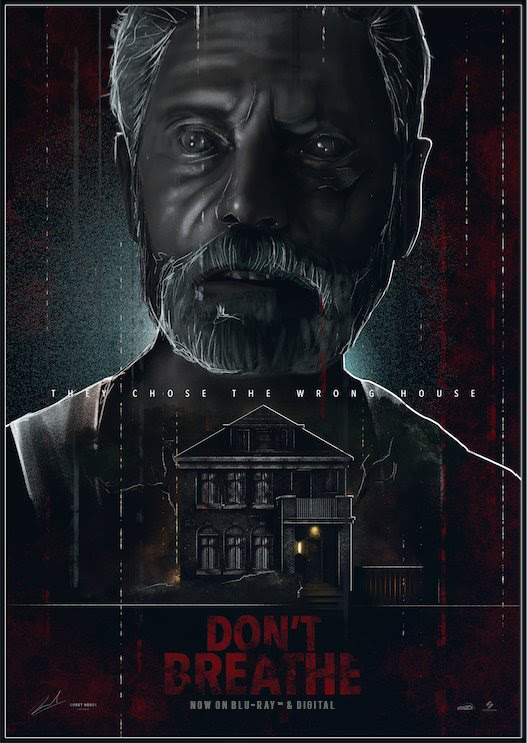 Sony Home Entertainment - Don't Breathe - Poster Posse
