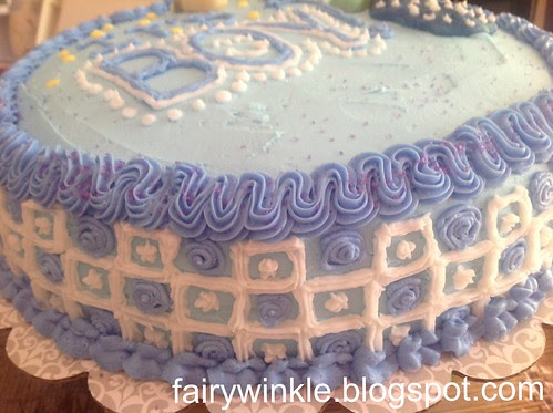 Tiled icing