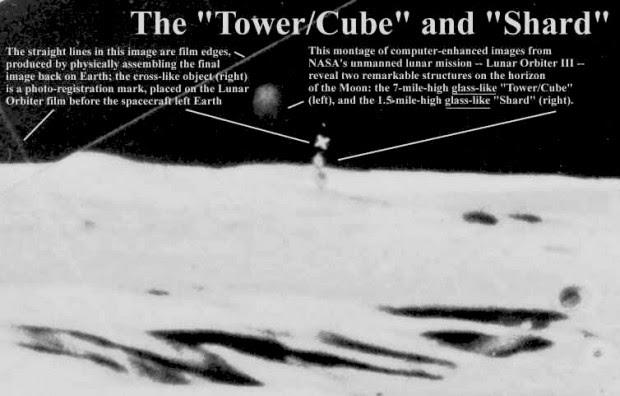 Anomalía lunar: The Shard.