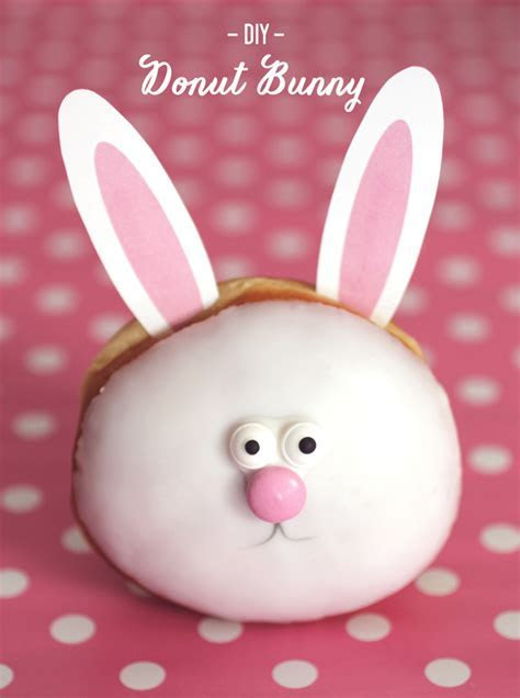 Donut Wait to Make These DIY Donut Bunnies   Evite