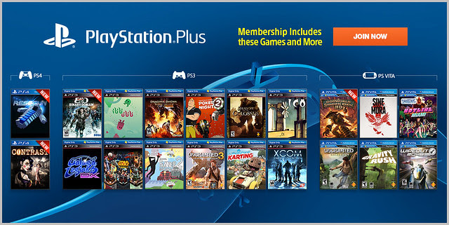 PlayStation Plus Update 11-18-2013