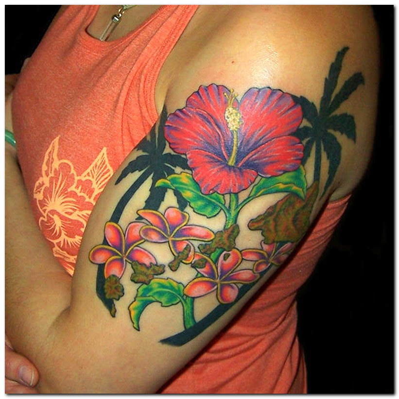 Cool Hibiscus Flower Tattoo Meaning Flower Tattoos Tattoomagz