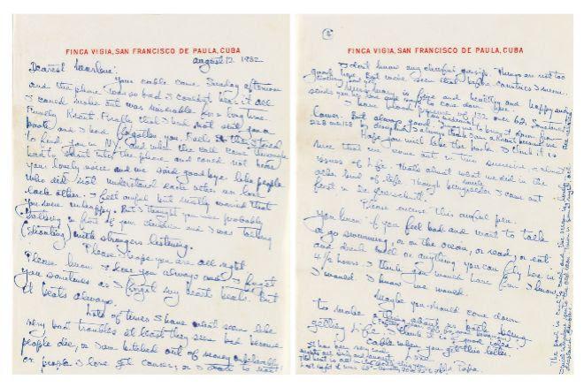 La Carta De Amor Imposible Del Escritor Hemingway A Dietrich Loc