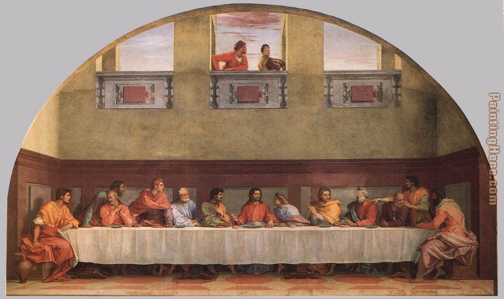 Andrea Del Sarto The Last Supper Painting Anysize 50 Off The Last
