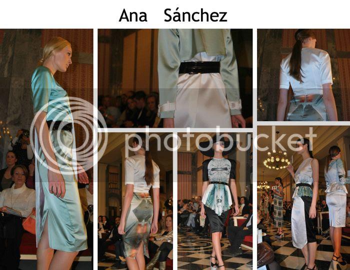 Ana Sánchez Desfile