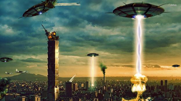 Αποτέλεσμα εικόνας για alien attack on earth