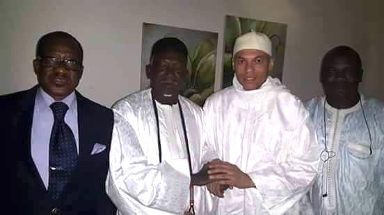 Le fils aîné du Khalife parmi les premiers Sénégalais à rencontrer Karim libre