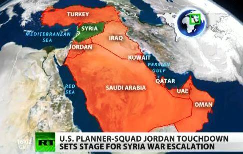 Αποστολή Αμερικανών και Βρετανών στρατιωτών στα σύνορα Συρίας-Ιορδανίας