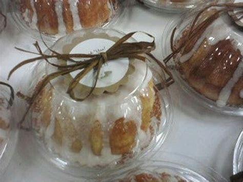 Favor packaging for Mini Bundt Cakes   Favor/Gift
