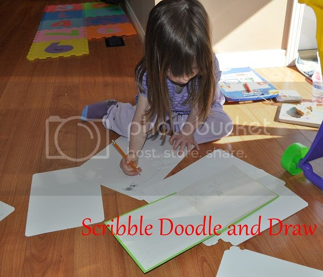 Learn to draw books drawing on the floor